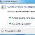 COM Surrogate has stopped working in Windows Photo Viewer
